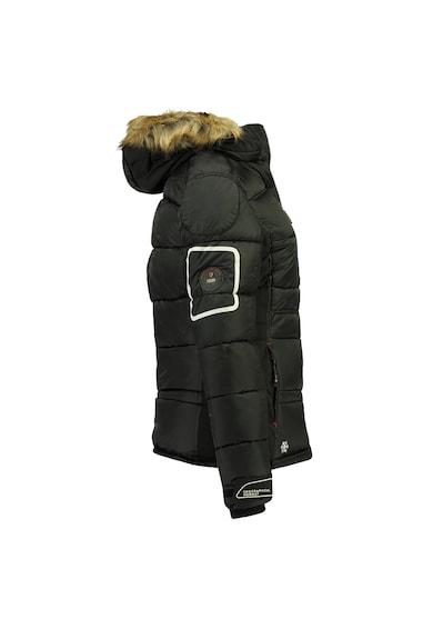 Geographical Norway Geaca cu gluga si garnitura de blana sintetica Femei