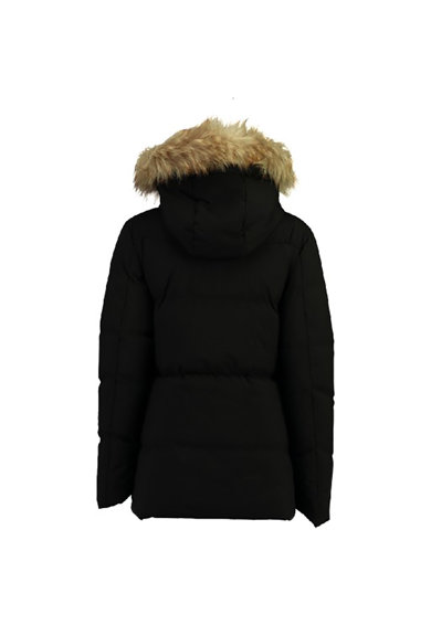 Geographical Norway Geaca parka cu gluga si vatelina Crown Lady Femei