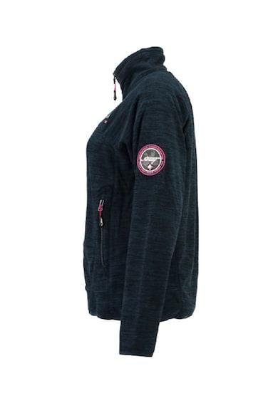 Geographical Norway Bluza sport din fleece cu fermoar si guler inalt Tyrell Femei