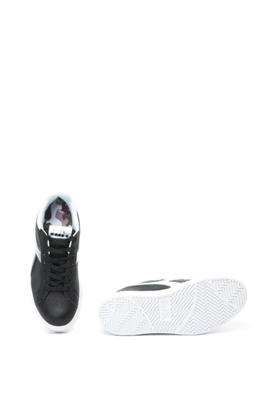 Diadora Pantofi sport de piele ecologica cu talpa texturata Game Step Femei