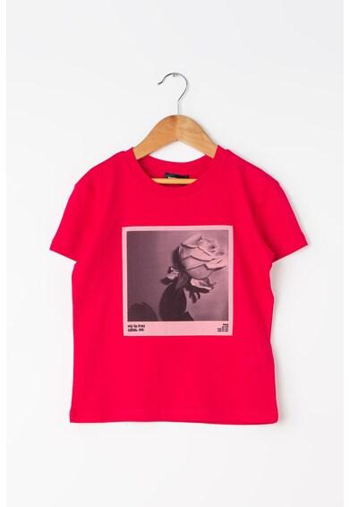 Diesel Тениска Tugiok с фотопринт Момичета
