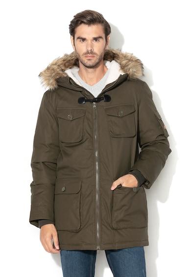 Esprit Télikabát levehető műszőrmével férfi