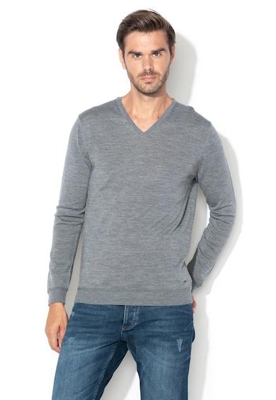 Esprit V-nyakú pulóver férfi