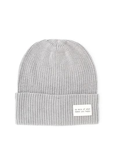 Esprit Плетена шапка с текст Жени