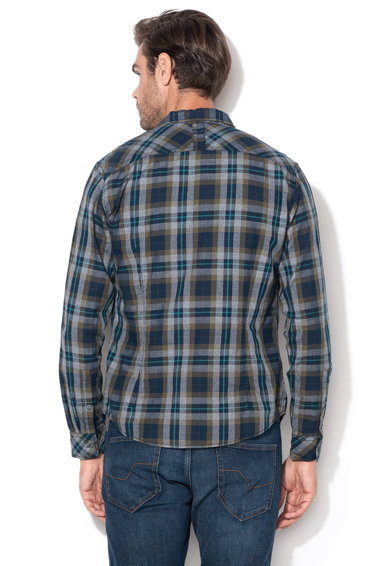 EDC by Esprit Вталена риза на каре Мъже