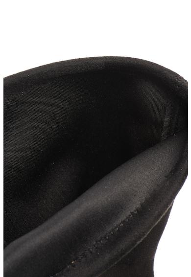 Esprit Nyersbőr hatású bebújós hosszú csizma női