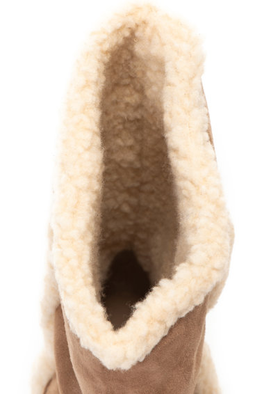 Esprit Cizme pull on cu garnituri de blana shearling sintetica Femei