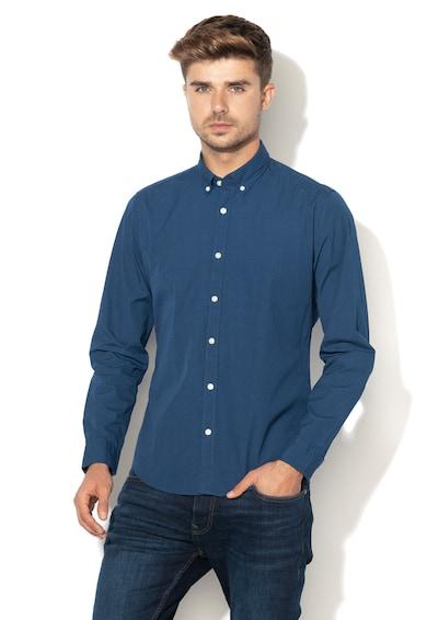 Esprit Вталена риза с десен на точки Мъже