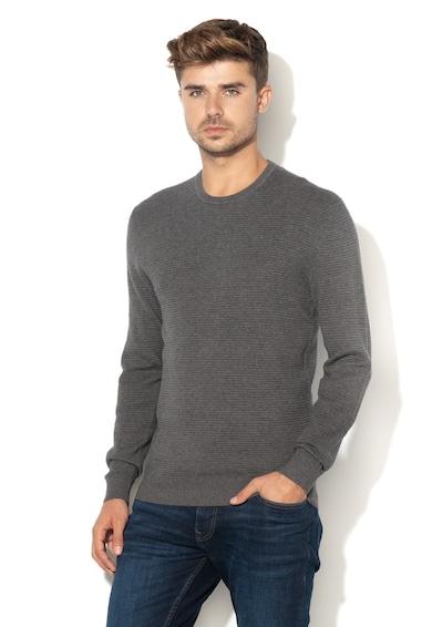 Esprit Texturált pulóver férfi