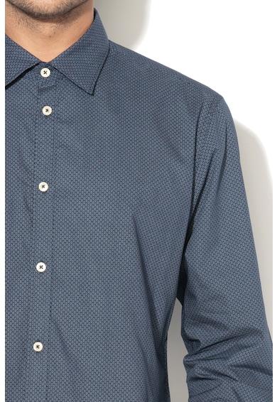 Esprit Вталена десенирана риза Мъже