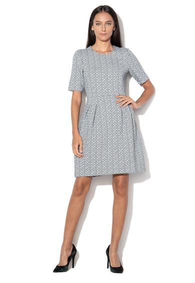 Esprit Разкроена рокля от жакард Жени