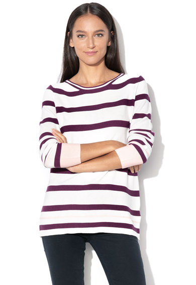Esprit Laza fazonú csíkos pulóver női