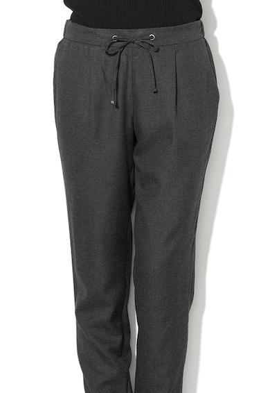 Esprit Pantaloni conici cu snur pentru ajustare in talie Femei