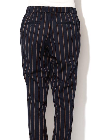 Esprit Szűkülő fazonú csíkos nadrág rugalmas alsó szegéllyel női