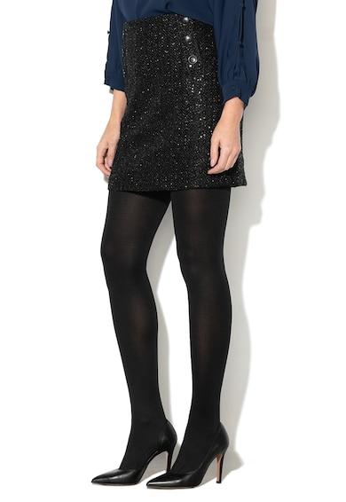 Esprit Straight fit miniszoknya csillámos hatással női