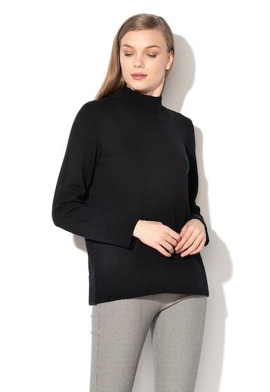 Esprit Пуловер с рипсено цилиндрично деколте Жени