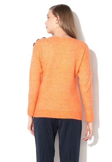 Esprit Пуловер с вълна и райе Жени