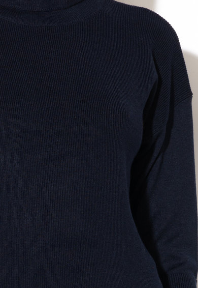 Esprit Фино плетен пуловер с поло Жени