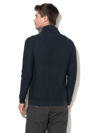 Esprit Gyapjútartalmú pulóver csavart kötésmintával férfi