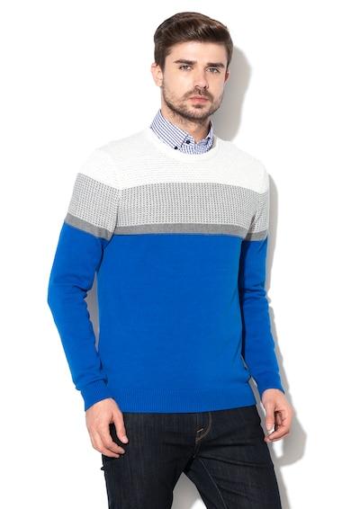 Esprit Colour block pulóver férfi