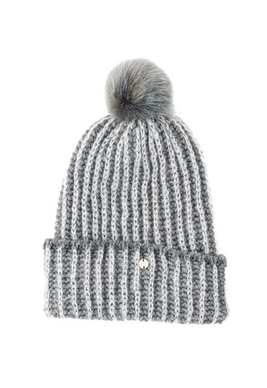 Esprit Плетена шапка с помпон Жени