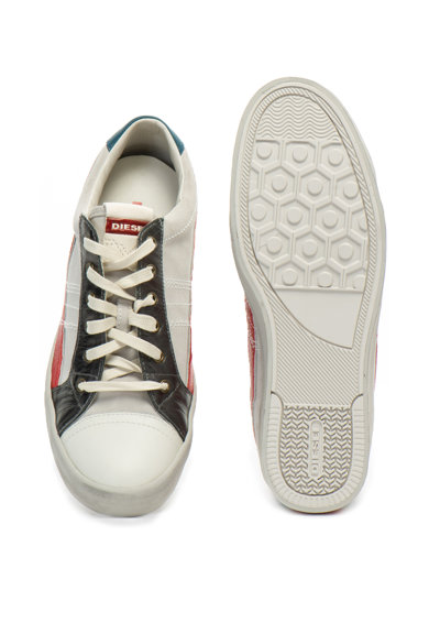 Diesel D-String nyersbőr és bőr sneakers cipő férfi