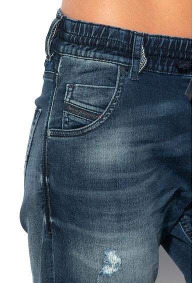 Diesel Blugi din material elastic cu talie elastica Krailey Femei