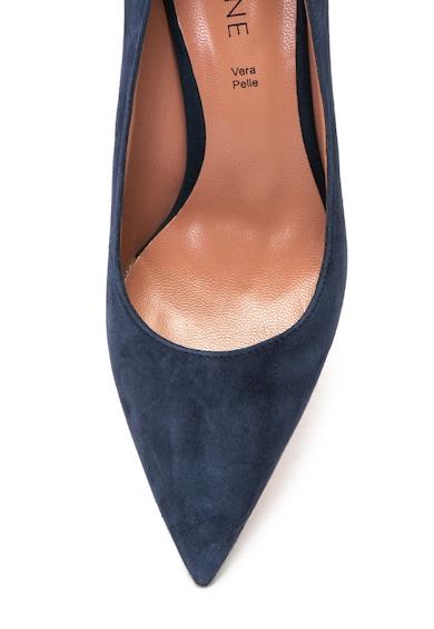 Zee Lane Diana hegyes orrú nyersbőr cipő női
