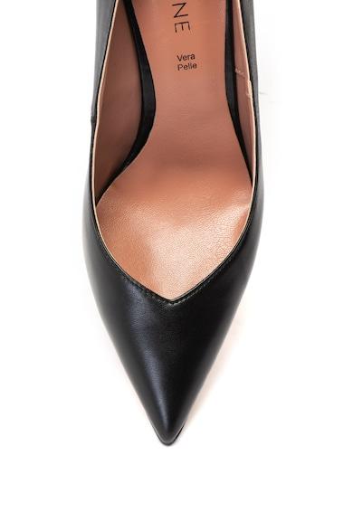 Zee Lane Кожени обувки Rina с цилиндричен ток Жени