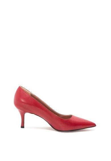 Zee Lane Кожени обувки с ток стилето Жени