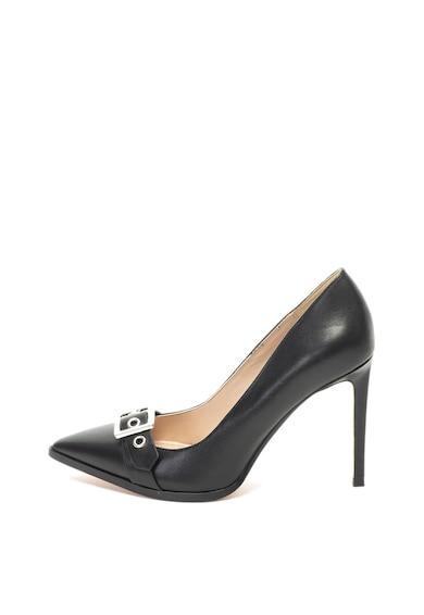 Diesel Pantofi de piele cu toc inalt si varf ascutit Femei