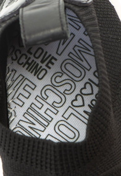 Love Moschino Спортни обувки от плетена материя Жени