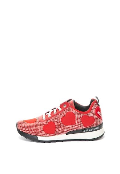 Love Moschino Спортни обувки с капси и еко кожа Жени