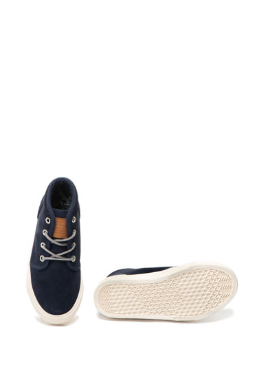 Pepe Jeans London Pantofi sport mid-high de piele intoarsa Traveler Fete