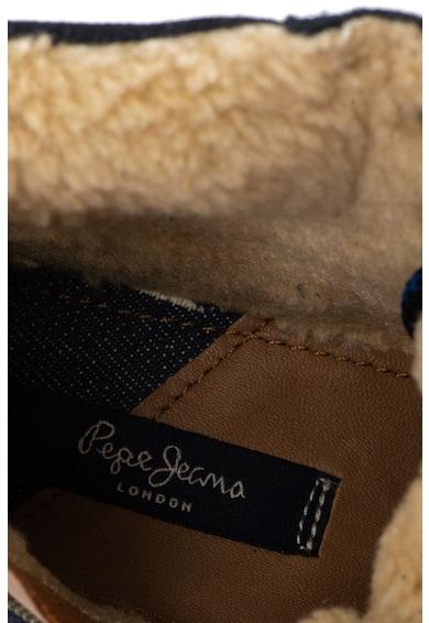 Pepe Jeans London Combat nyersbőr bakancs plüssbéléssel Fiú
