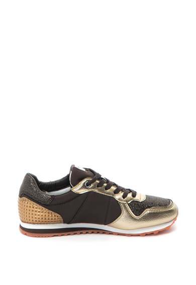 Pepe Jeans London Спортни обувки Verona Winner с метален ефект Жени