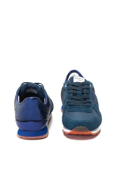 Pepe Jeans London Verona sneakers cipő nyersbőr anyagbetétekkel női