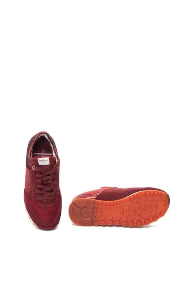 Pepe Jeans London Pantofi sport cu insertii de piele intoarsa Verona Femei