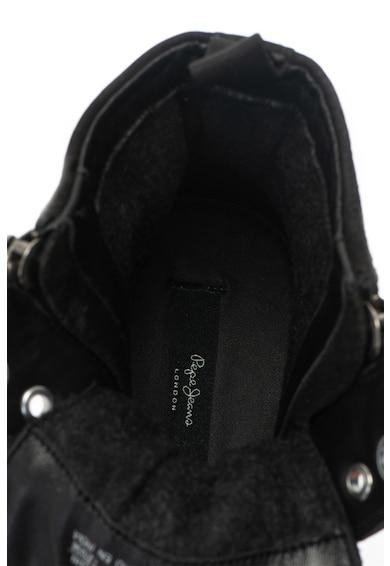 Pepe Jeans London Pantofi sport inalti de piele Barbati