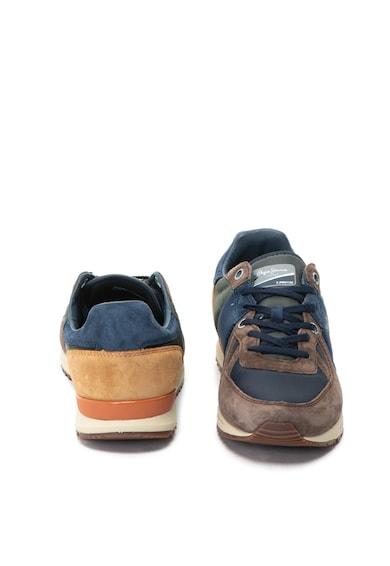 Pepe Jeans London Pantofi sport cu garnituri de piele intoarsa Tinker Pro 120 Barbati