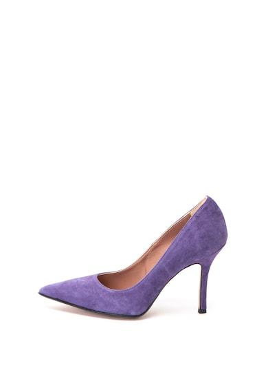 Zee Lane Велурени обувки Elena с остър връх Жени