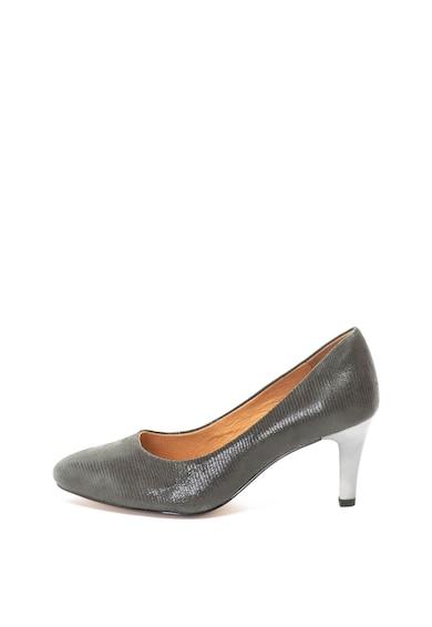 Caprice Pantofi de piele cu aspect texturat Femei