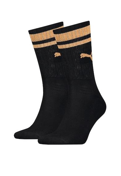 Puma Унисекс дълги чорапи с лого, 2 чифта Жени