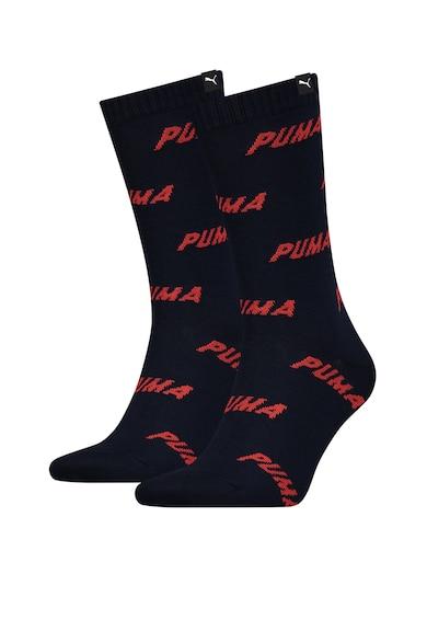 Puma Унисекс дълги чорапи с десен, 2 чифта Жени