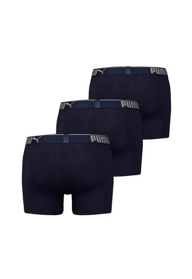 Puma Set de boxeri cu banda logo in talie - 3 perechi Barbati