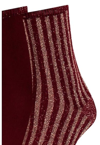 Tommy Hilfiger Set de sosete lungi din amestec de modal cu aspect stralucitor - 2 perechi Femei