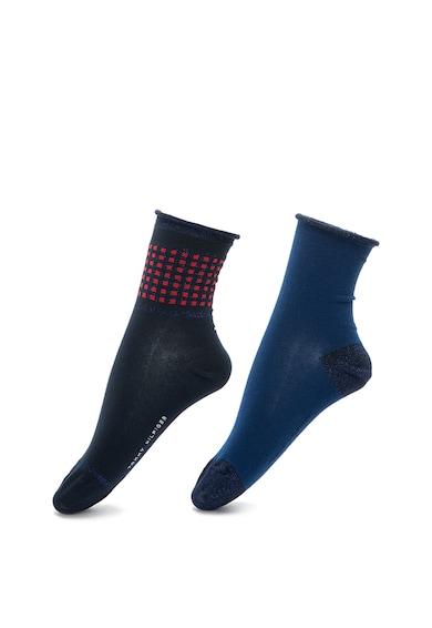 Tommy Hilfiger Rövid zokni szett fémszál betétekkel - 2 pár női