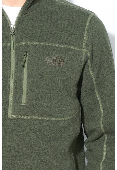 The North Face Gordn Lyons pulóver cipzáros zsebbel a mellrészen férfi