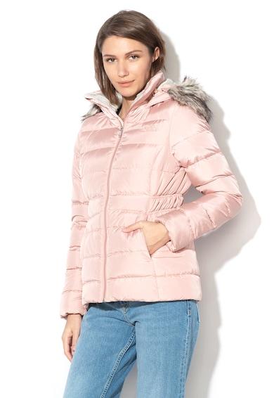 The North Face Gotham Standard Fit pihével bélelt dzseki levehető műszőrmével női