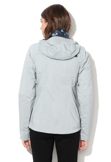 The North Face Jacheta impermeabila si respirabila cu Triclimate® si model 2 in 1, pentru drumetii Femei